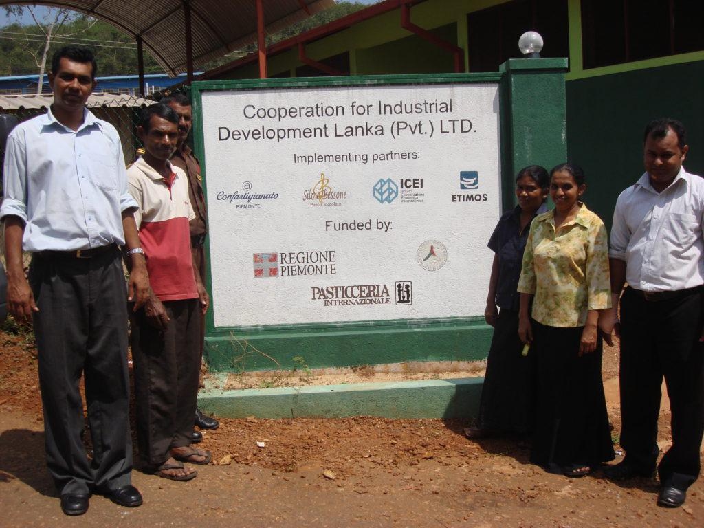 Centro della lavorazione del cacao di Silvio Bessone in Sri Lanka
