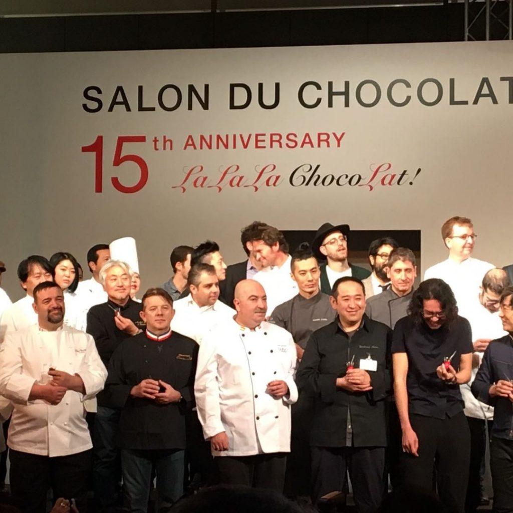 Silvio Bessone tra i Migliori Cioccolatemaker del mondo a Tokyo 2017