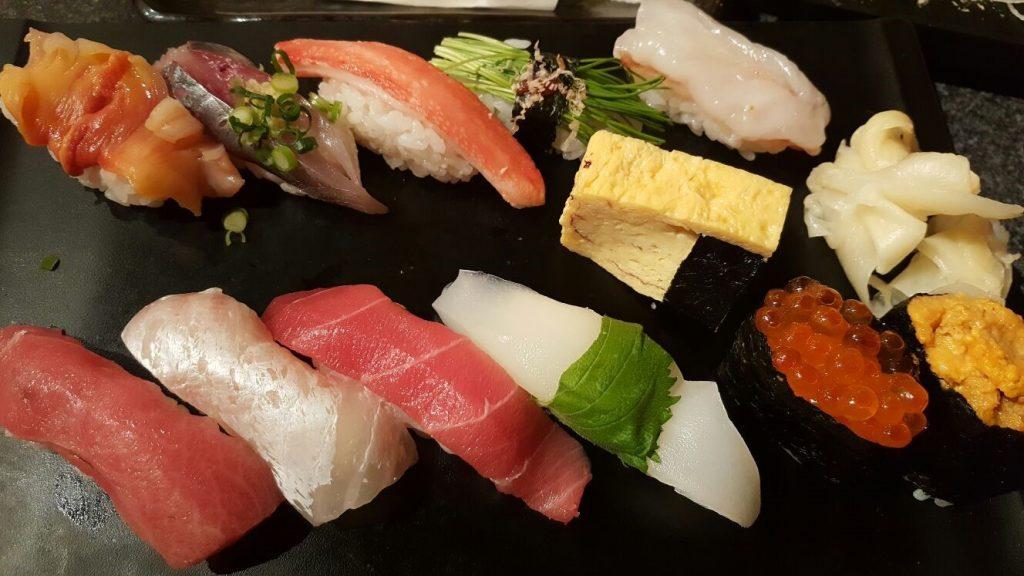 Silvio Bessone ama il Sushi